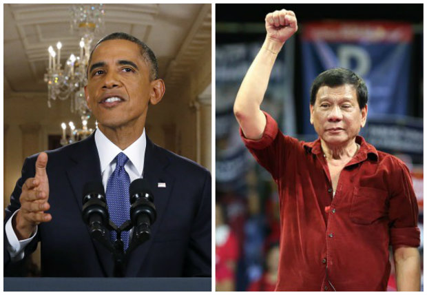 US President Obama congratulates presumptive President Duterte
