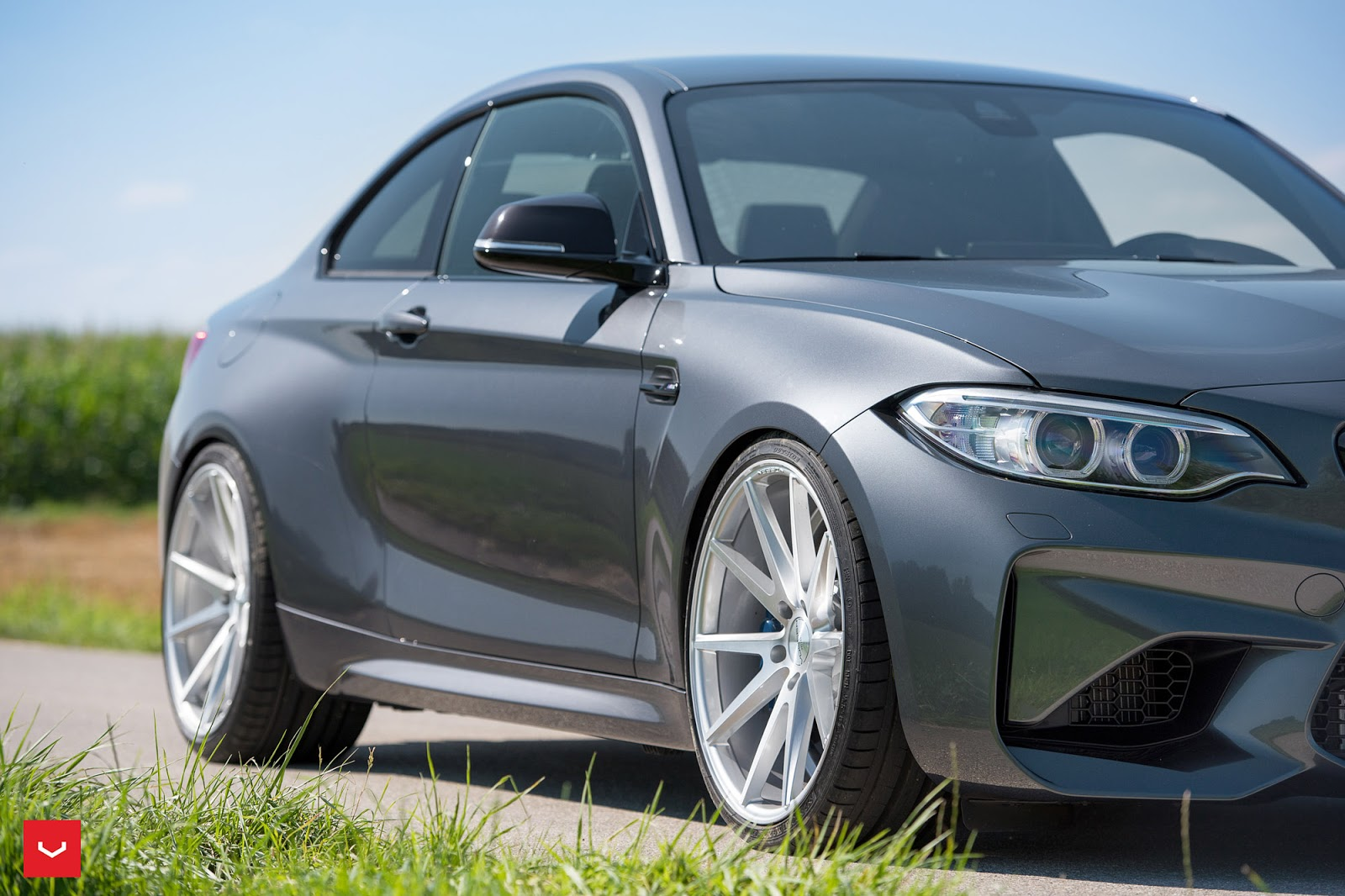 "BMW M2 Tries On A Set Of 20"" Concave Rims"