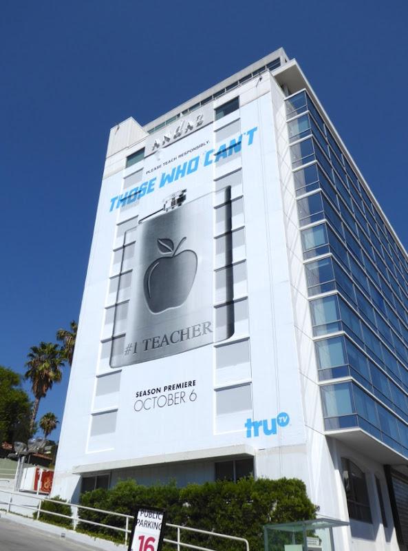Giant Those Who Cant season 2 hip flask billboard