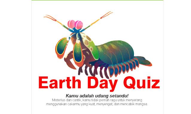 Cara Ikutan Earth Day Quiz di Google dan Temukan Hewan Yang Mewakili Kalian di Hari Bumi 2021