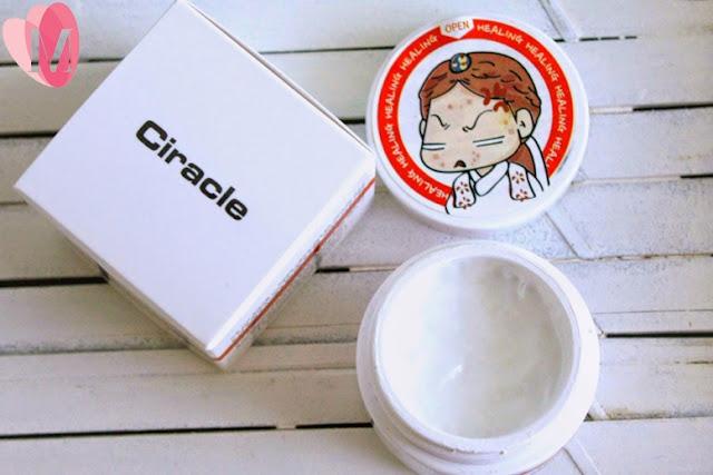 Review kem trị mụn bọc Ciracle Red Spot Cream