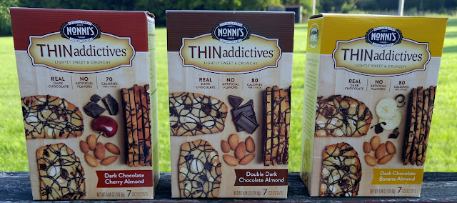 Nonni's dark chocolate almond THINaddictives prize pack #giveaway