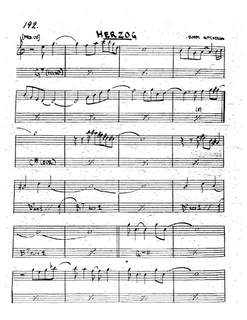 Partitura Trompeta Bobby Hutcherson