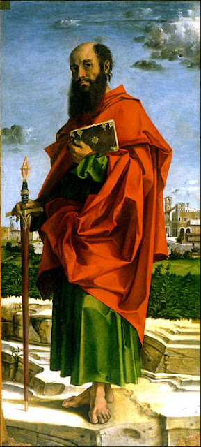 Saint_Paul. Apostle of the Gentiles  Bartolomeo_Montagna