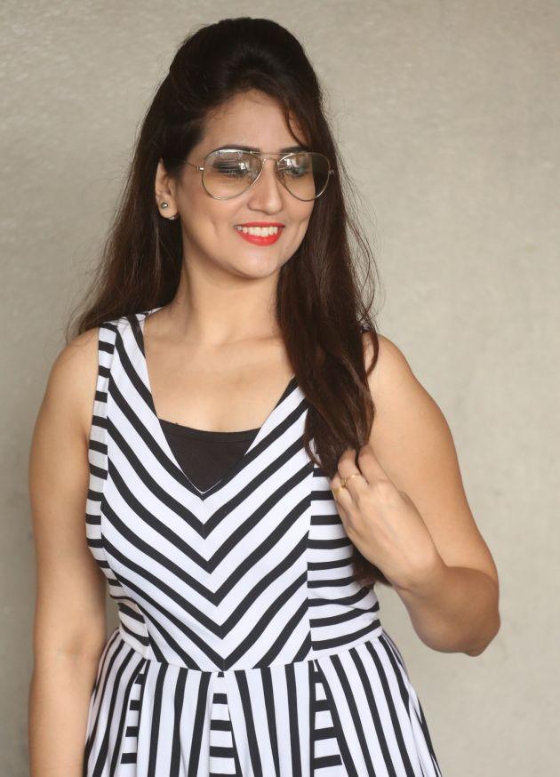 Glamorous Tv Anchor Manjusha Smiling Photoshoot