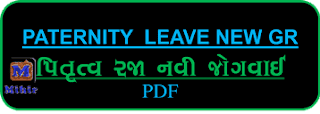 Paternity Leave, Paternity Leave Circular, Paternity Leave In India, Pitrutva Leave, Pitrutva Raja Paripatra, Pitrutva Raja GR Gujarat, Pitrutva Raja No Paripatra, Paternity Leave In Gujarat government, Paternity Leave New GR