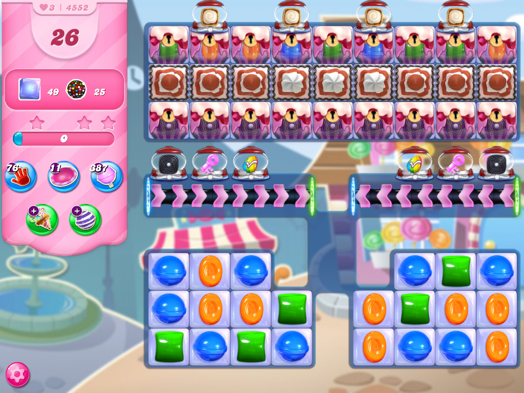 Candy Crush Saga level 4552