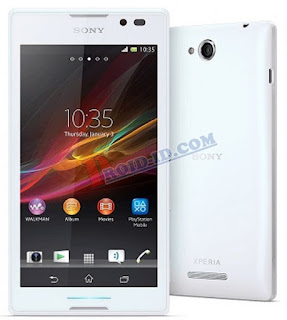 Cara Flash Sony Xperia C C2305