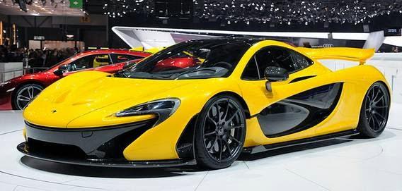 McLaren P1 mobil tercepat di dunia 2016 saat ini nomor 10