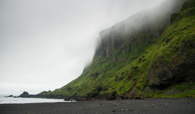 Playa negra en Vik