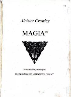 Libro PDF gratis Esotérico Magia(k) Aleister Crowley PDF