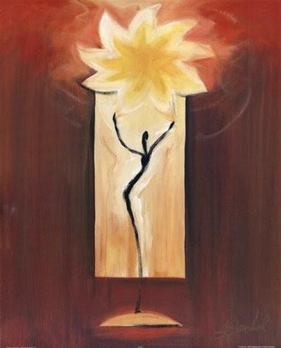Sun dance Poster Print by Alfred Gocjkel | artpreneure-20