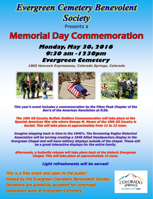 Memorial Day Commemoration 2016