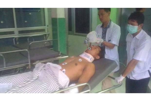 Sedih, Indra Korban Penembakan Brutal Polisi Koboi di Lubuklinggau Akhirnya Meninggal