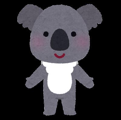 コアラのキャラクター