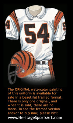Cincinnati Bengals 1988 uniform