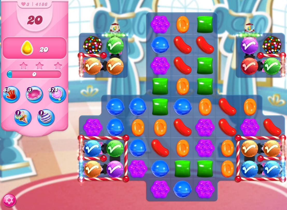 Candy Crush Saga level 4186