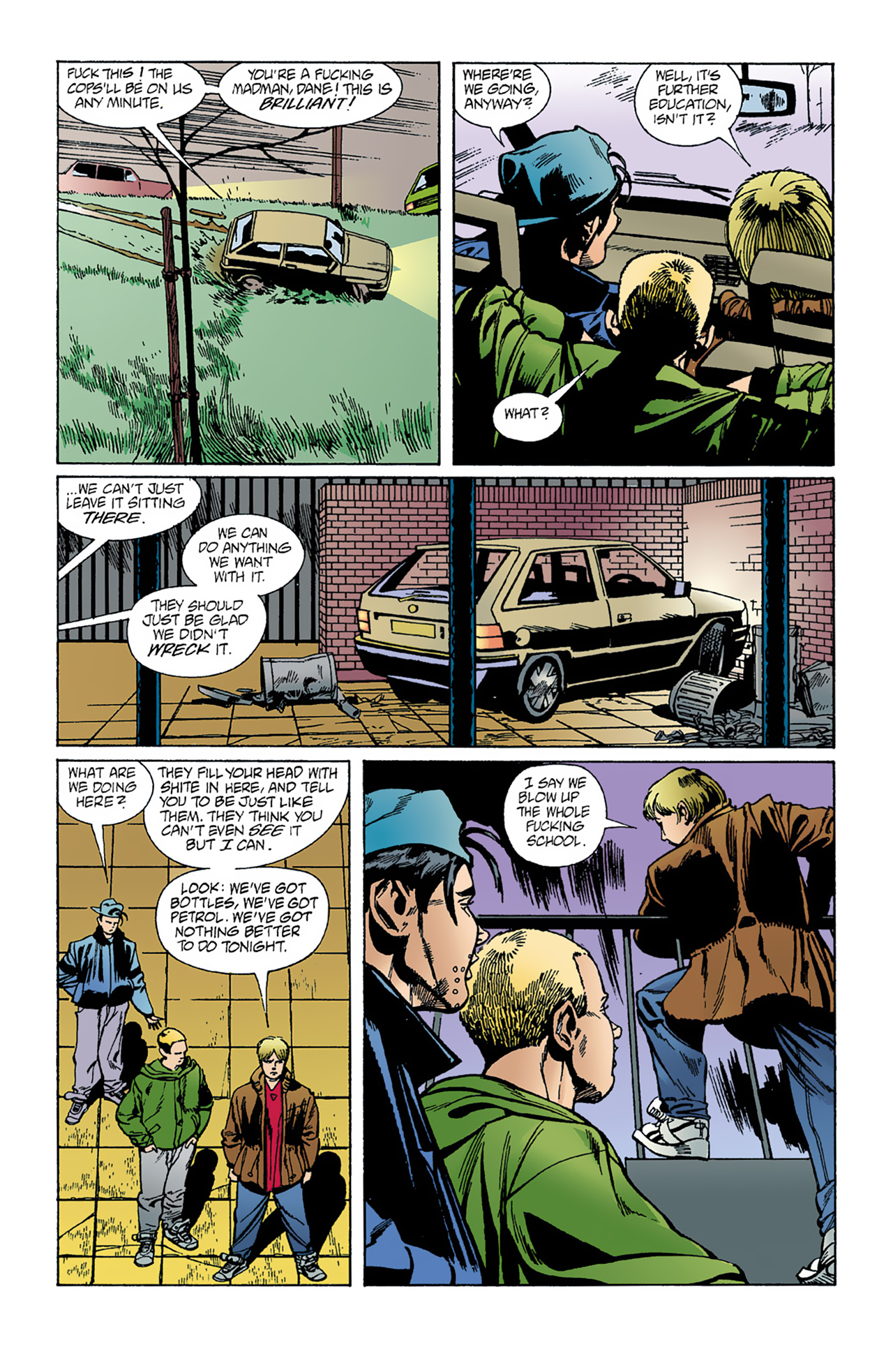 The Invisibles (1994) 1 Page 17