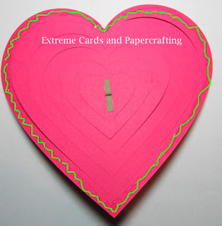 pop up card adhesive added