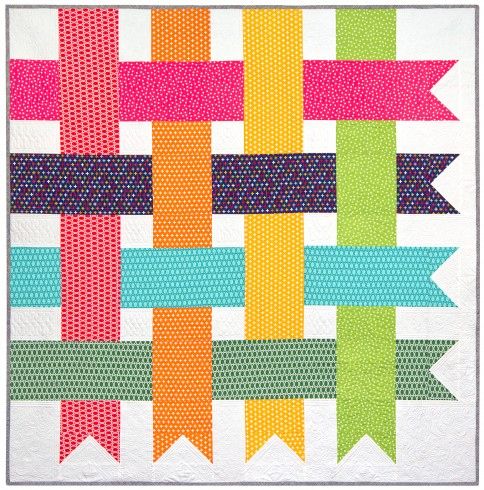 Simple Modern Quilt Patterns Free : Quilt Inspiration: Free pattern day: Easy Modern Quilts (2)