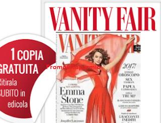 Logo Vanity Fair : copia omaggio n.1 Gennaio 2017