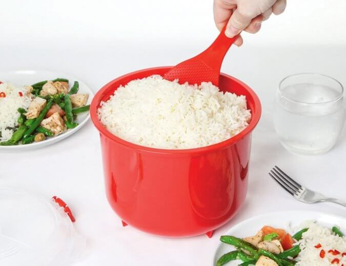 29 Life-Saving Kitchen Inventions We Wished We Had In Our Own House - Microwave Rice Steamer
