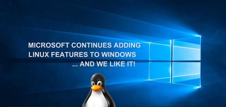 Windows 10 Support TAR dan cURL
