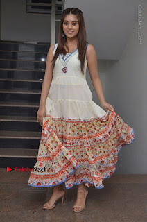 Telugu Actress Anu Emmanuel New Stills in Beautiful White Long Dress  0090.JPG