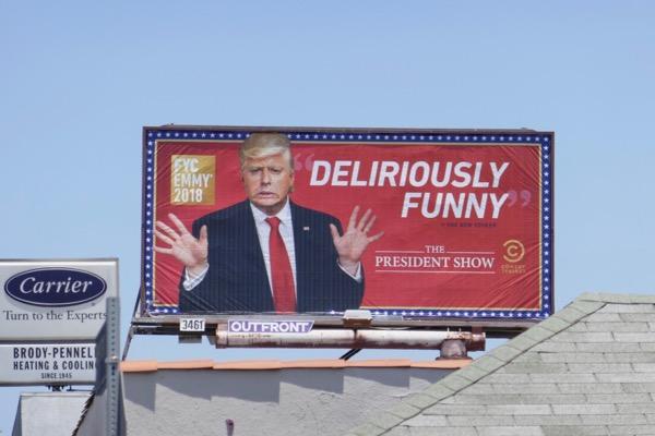 President Show 2018 Emmy FYC billboard