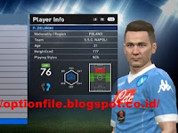 Option File PES 2016 Update Pemain 5 August 2016 For PTE 6.0 by ramin_cpu