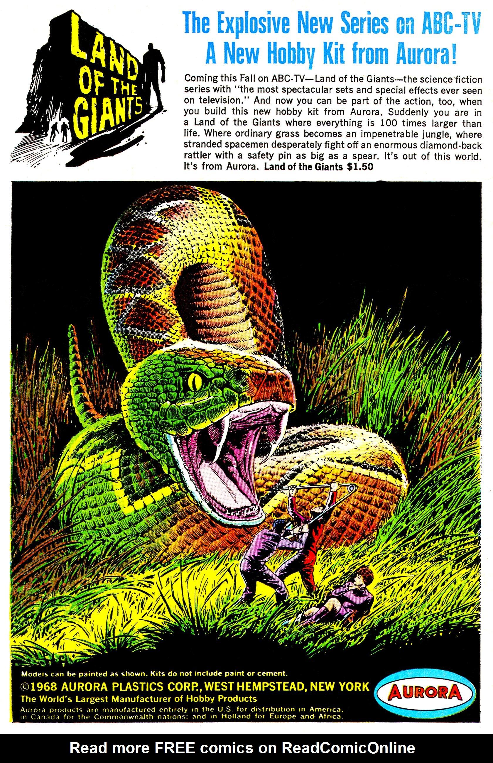 Read online Secret Six (1968) comic -  Issue #4 - 35
