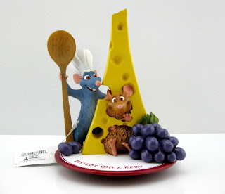 Disney World Epcot Ratatouille Bistrot Chez Remy Figurine