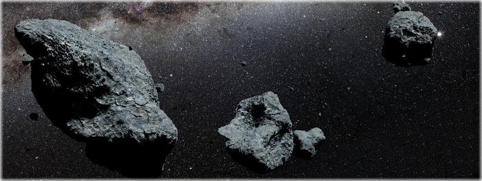 tres asteroides passam perto da Terra em 10 de novembro de 2018
