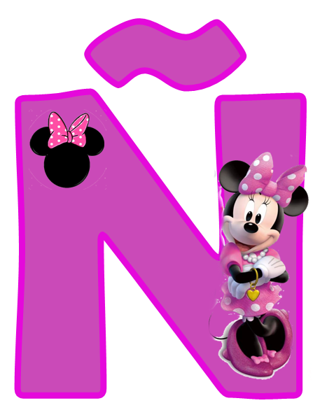 Gifs De Abecedarios Y Letras Abecedario De Minnie Mouse