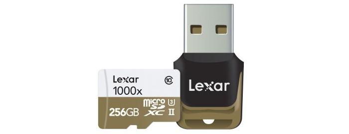Lexar Professional 1000x microSDXC 256GB 型番: LSDMI256CBJPR1000R