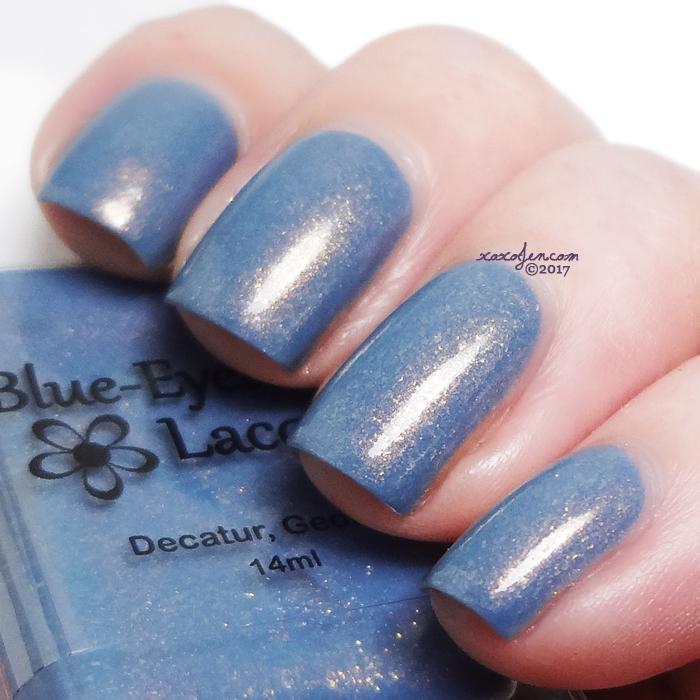 xoxoJen's swatch of Blue Eyed Girl Niagara Sunrise