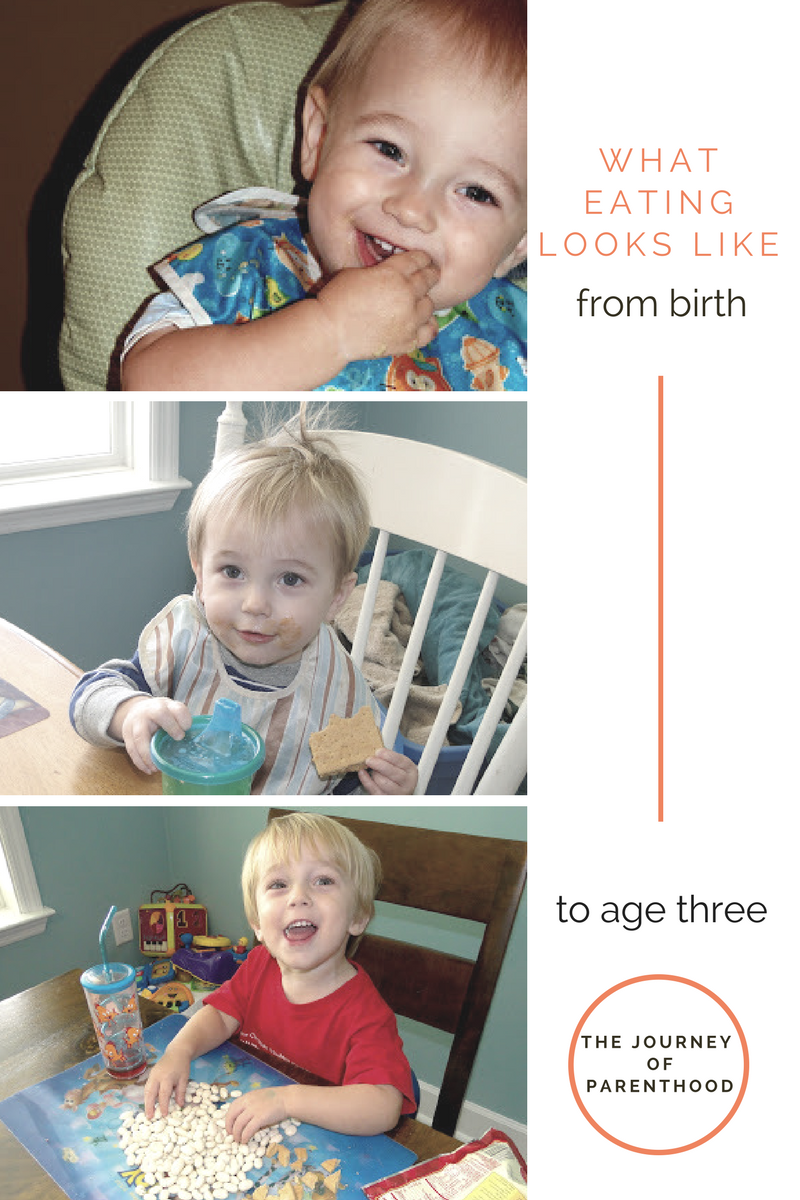 Kye Eating: Birth to Age 3