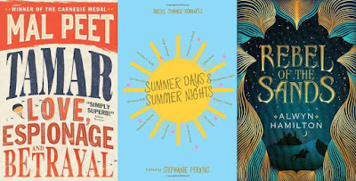 Top 10, Lists, 2016, Books, Tamar, Mal Peet, Summer Days and Summer Nights, Stephanie Perkins, Rebel of the Sands, Alwyn Hamilton, The Writing Greyhound, Lorna Holland