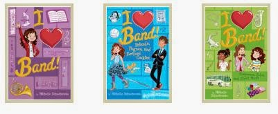 I Heart Band  series books 1-3