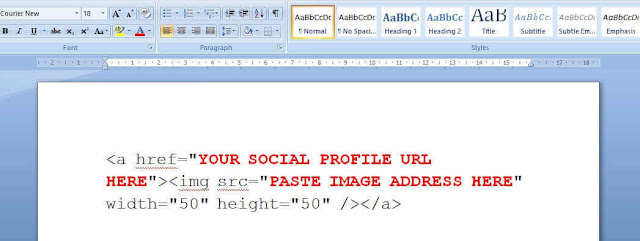Attractive social media icons for blogger : how to add in just 5 minutes?