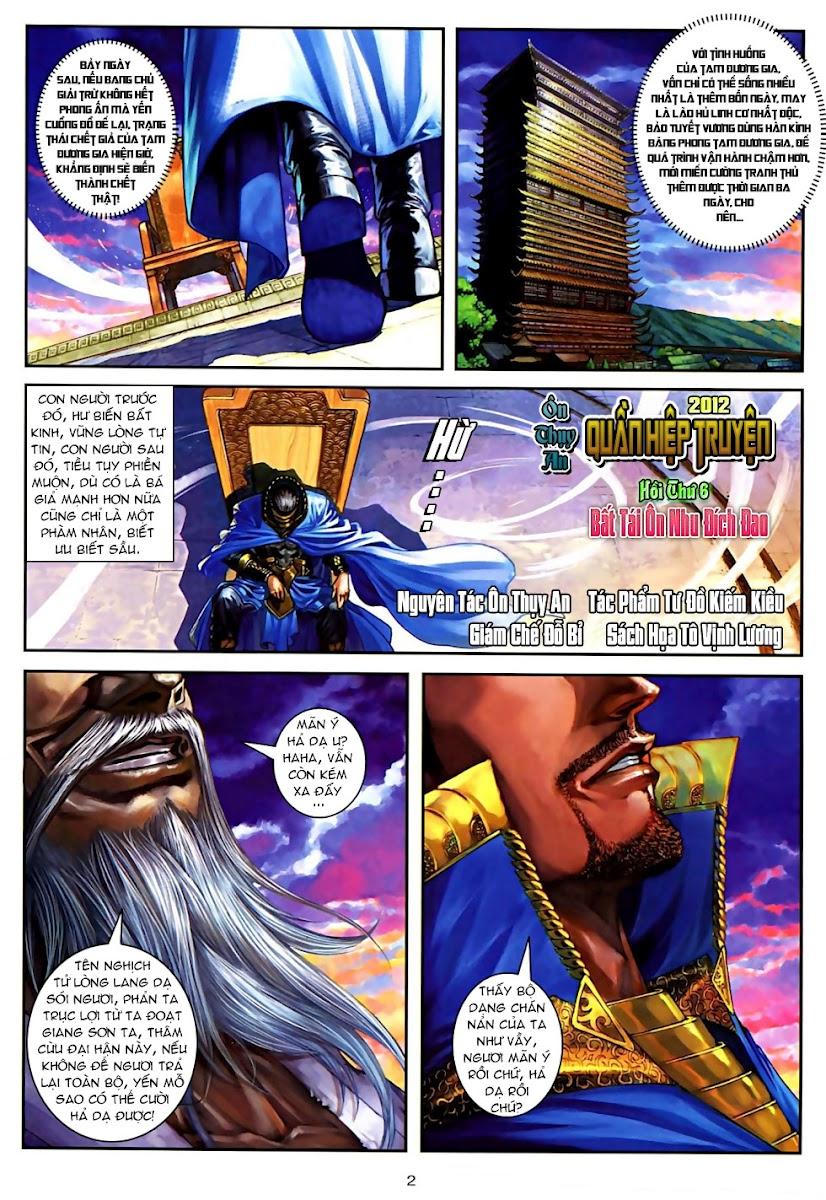 Ôn Thuỵ An Quần Hiệp Truyện Phần 2 chapter 6 trang 2