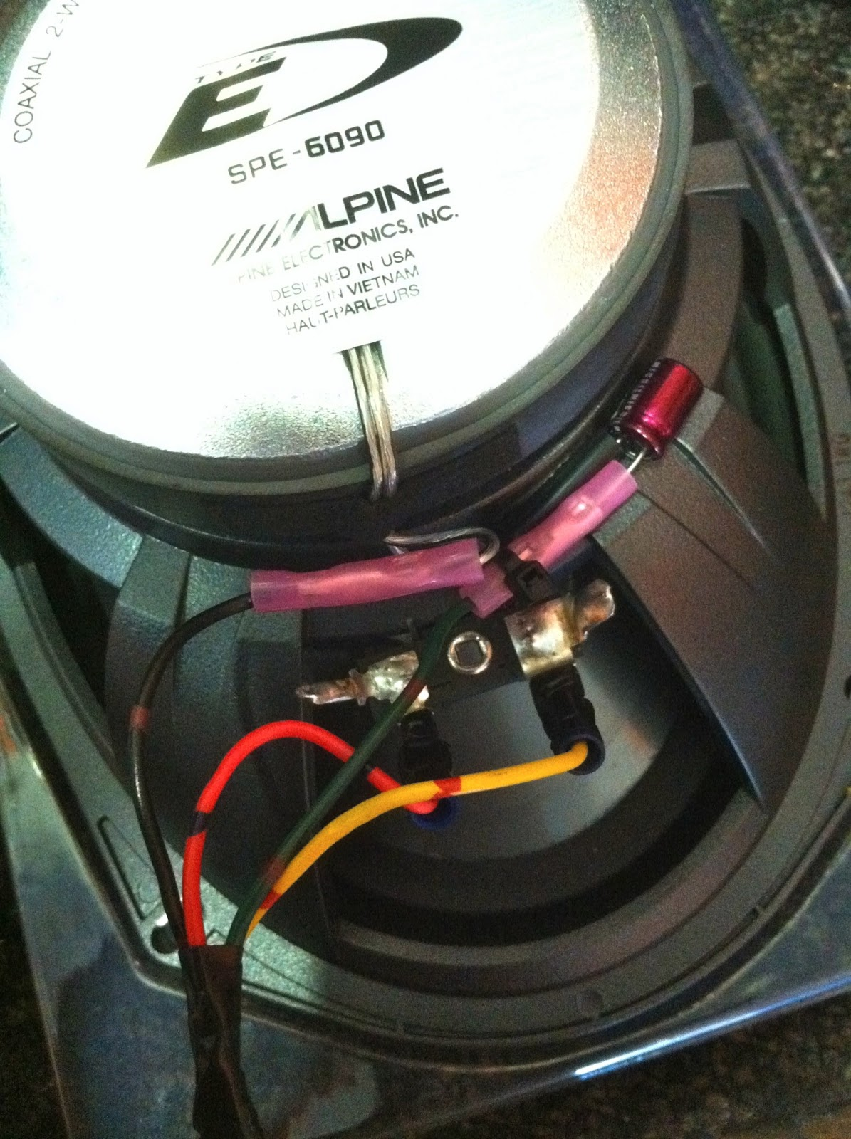 small resolution of camry rear speaker upgrade alpine speakers jeremy car audio expert