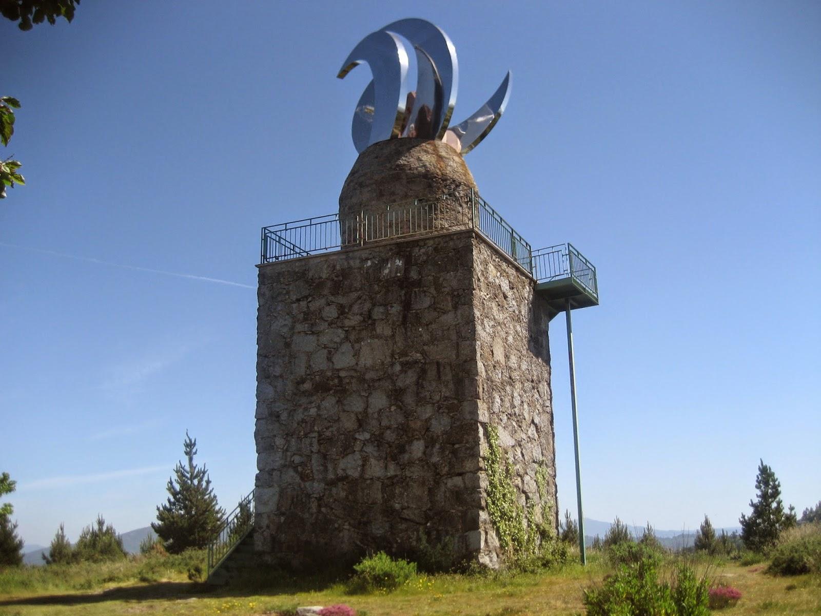 Mirador de Faro das Lúas en Vilanova de Arousa