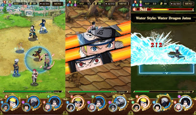 Naruto Ultimate Ninja Blazing MOD Unlimited All Opened Apk