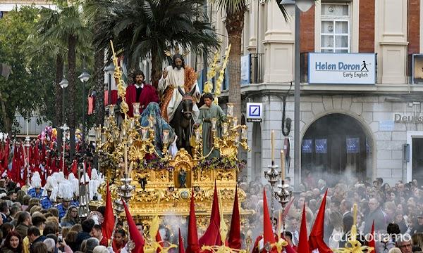 El Domingo de Ramos de la próxima Semana Santa de Huelva se adelantará en media hora