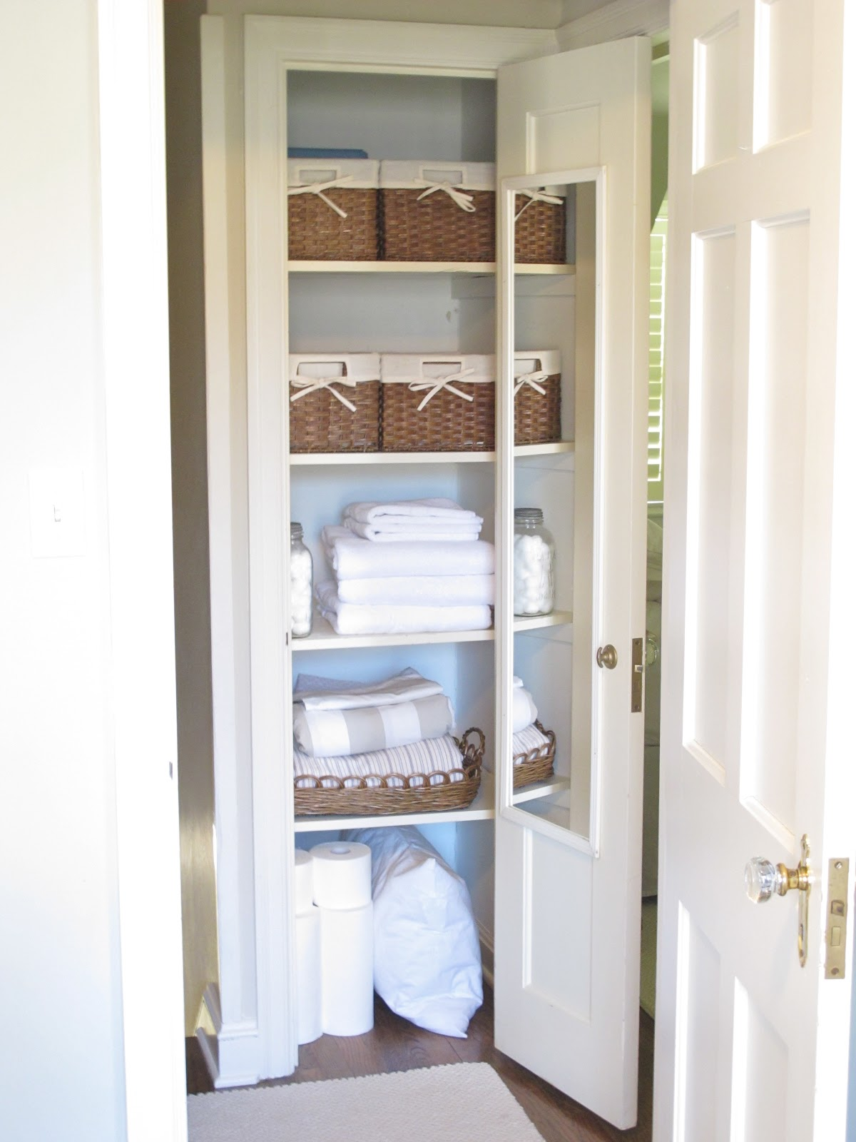 hobick my linen closets creative linen storage in our smal