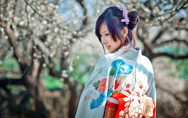Bunga di Jepang yang Mempesona
