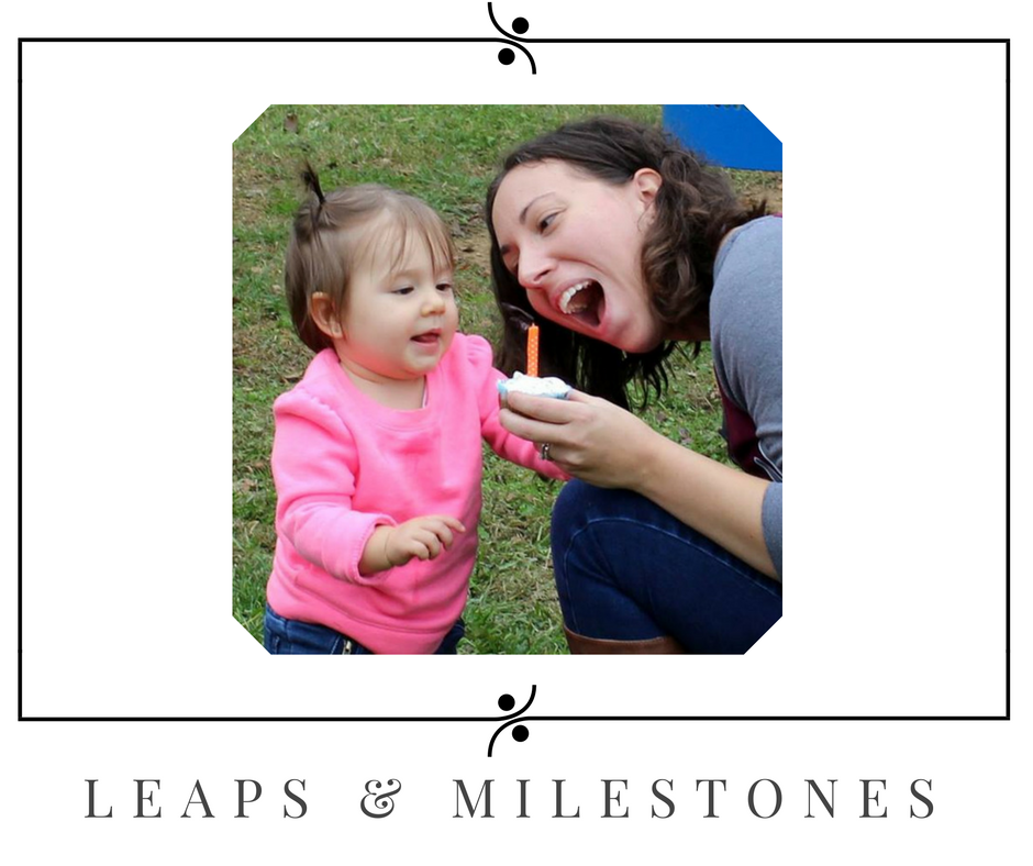 Leaps and milestones - a complete list of baby and toddler milestones.