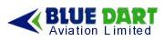 Blue Dart Aviation logo
