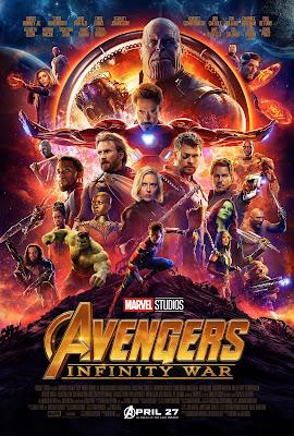 avengers wojna bez granic film recenzja plakat marvel thanos